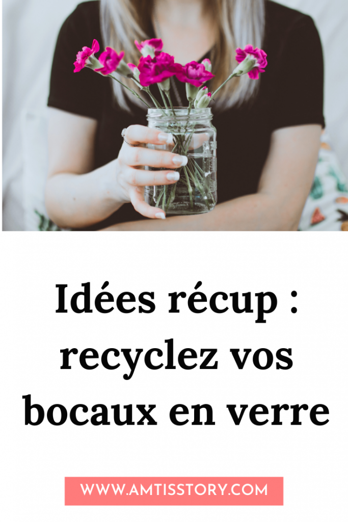 DIY recycler bocal verre