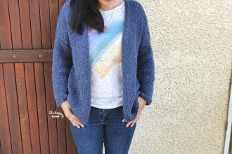 Tricot collection #7 : mon denim cardigan en jersey (tuto)